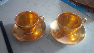 Two Royal Winton Grimwades Cups and Saucers Kitchener / Waterloo Kitchener Area image 1
