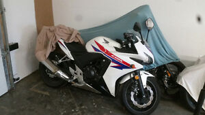 2013 cbr 500 with abs excellent condition