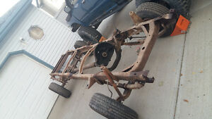 1964 Mercury M-100 truck chassis - frame
