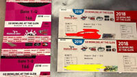 NASCAR Race Camping Pass @ The Glen-Bowling at The Glen Aug 2-5