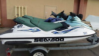 2 - 3 Seater Seadoo GTI Limited Edition, Trailer and Toys