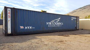 2x 45' HC Sea Can, shipping container for sale!