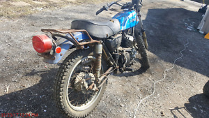 Kawasaki 175 two stroke enduro