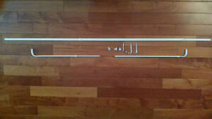 Curtain Rod Set - Ideal for Bay Window