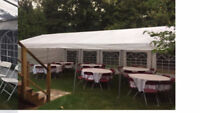 PARTY RENTALS! CALL TO RENT tent, chairs, tables and more