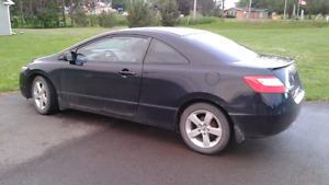 2007  Honda Civic 2Dr coupe