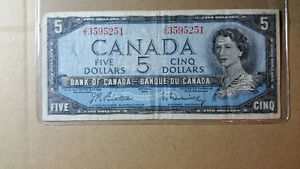 Canada Bank Notes 1954, 1973, World notes and more...