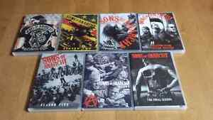 Sons of anarchy seasons 1 - 7 complete