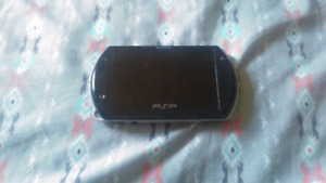 Modded piano black psp go loose