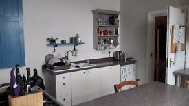 Double room with adjoining study, furnished, for rent in friendly family home, all bills included
