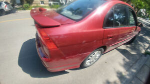 2005 Honda Civic No rust lx ac automatic