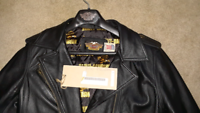 Vintage Women's Harley Davidson Leather Jacket