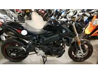 2017 17 BMW F800R 653 MILES YES 653 BLACK F 800 R NAKED MINT 1 OWNER ROADSTER