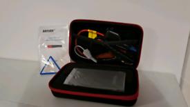 A7 Jump start kit and 12000mAh external battery.
