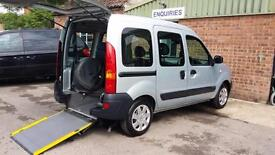 2007 Renault Kangoo Wheelchair Disabled Accessible Vehicle