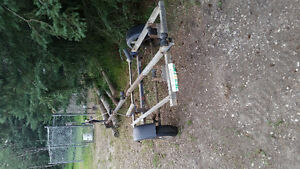 Light duty boat trailer