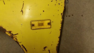 1974-1977 Chev Vega Good Used Right Front Fender w/Signal Belleville Belleville Area image 3
