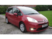 Citroen Grand C4 Picasso 2.0HDi 16v EGS VTR+ FULL HISTORY SEVEN SEAT AUTOMATIC