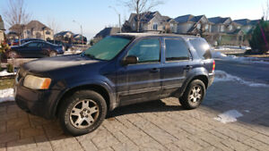 2003 Ford Escape. AWD great beater or first car