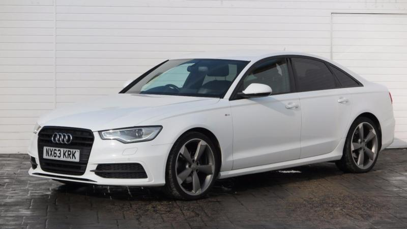 2013 audi a6 2013 63 audi a6 2 0 tdi s line black edition diesel white cvt in middlesbrough. Black Bedroom Furniture Sets. Home Design Ideas