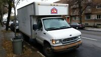 Ford E350 Cube Truck camion 14' foot 2002