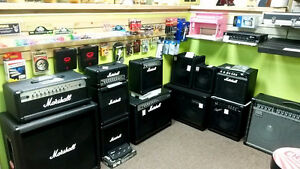Guitar and Bass Heads, Cabinets and Combo Amps DEALS