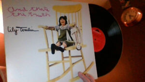 """LILY TOMLIN """"And That's The Truth"""" LP"""