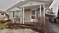 Bungalow House for Rent in Guelph-Available Immediately