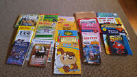 lot of  children's books and activity  books