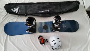 Womens Snowboard and gear