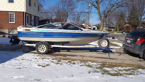 1988 Bayliner  will trade for a small zodiac boat with motor