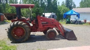 Case International 584 with 2250 loader attachment