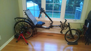 Electrified Recumbent Bicycle