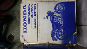 Shop manual/ manuel d'atelier Honda CB750