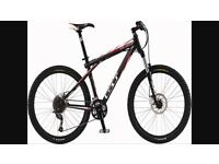 GT mountain bike Hydraulic brakes rock shox cycle bicycle