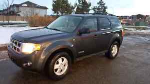 Dark Grey 2008 AWD Escape XLT  w/Leather