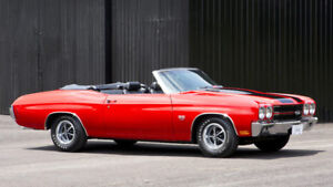 Looking for winter project - 1970 Chevelle Convertible