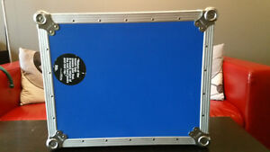 Odyssey FTTX blue technics and other DJ turntable flight case