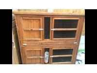Outdoor Rabbits and Guinea Pig hutch