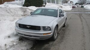 mustang 2005 v6,automatique
