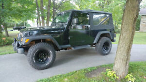Jeep wrangler tj unlimited ( LJ ) 2004