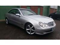 2003(03) MERCEDES-BENZ CLK 270 2.7TD CDI auto AUTOMATIC Elegance SILVER SAT NAV