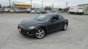 2005 Mazda  RX-8, Only 79000 km, Leather,Sunroof,warranty availa