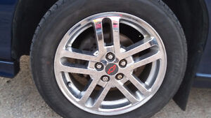 Rims Chrome (Chev.) with tires