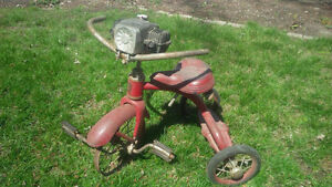 Antique Tricycle (#3) with Very Cool Siren - $150 o.b.o.