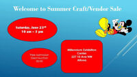 Welcome to Summer Craft/Vendor Sale