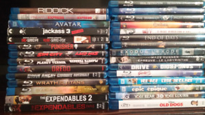 Blu-Rays for sale $4.00