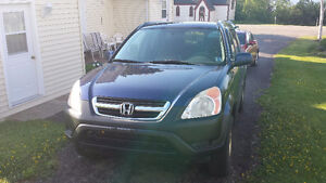 2003 Honda CR-V EX AWD Crossover ** New Price * New Info *
