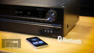 Onkyo TX-SR333 5.1-Channel Home Theater Receiver with Bluetooth