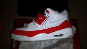 brand new 94f7a ba0fa Jordan 3 tinker - White University red
